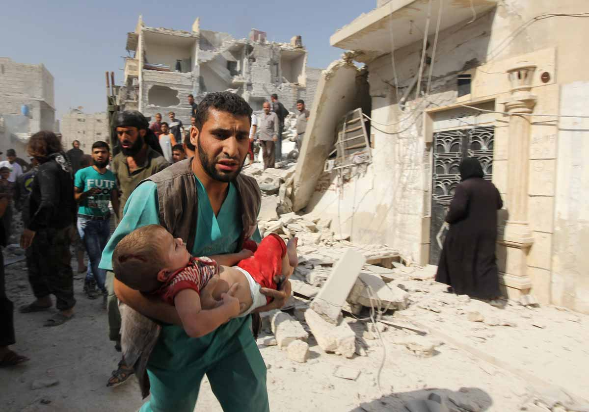 "the war in syria In march 2015, the syrian civil war, rightly declared by the united nations as the "" worst humanitarian disaster since the cold war,"" entered its."
