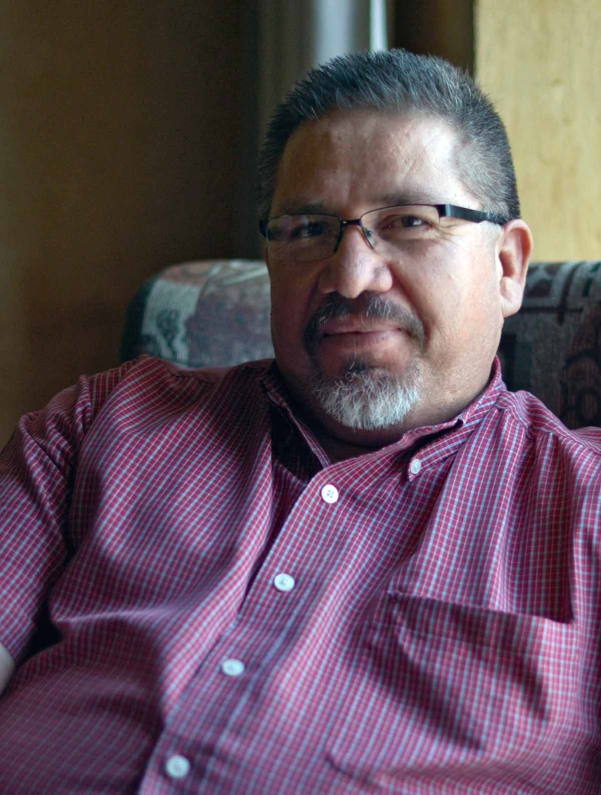 Photo of Mexican award-winning local journalist and Agence France-Presse contributor Javier Valdez, taken on May 23, 2013.