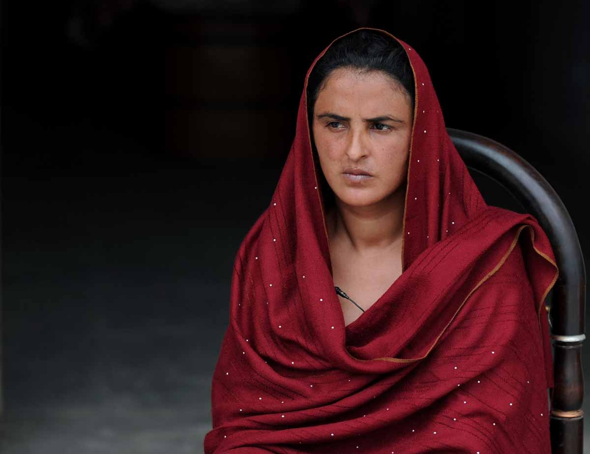 In this photograph taken on February 28, 2011, Pakistani woman Mukhtar Mai speaks during an interview with AFP at a shelter set up by her to protect helpless women in the village of Mirwala in Pakistan's central Punjab province.