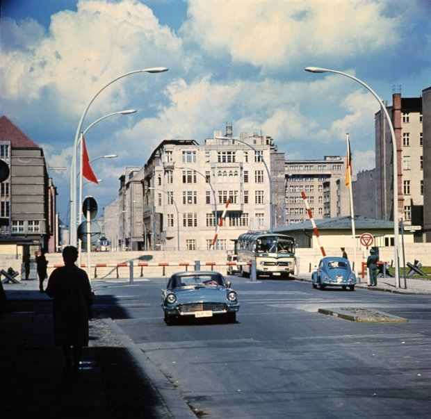 Checkpoint Charlie, in 1968