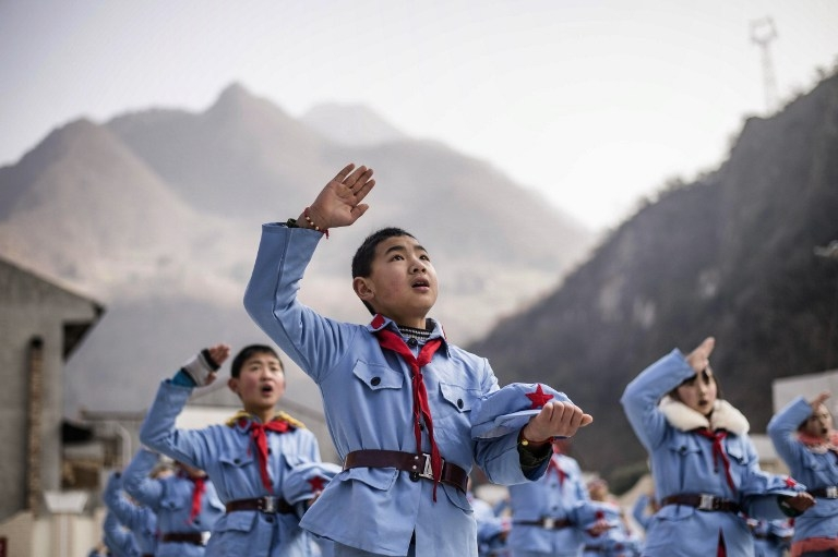 CHINA-SCHOOL-EDUCATION-POPULATION