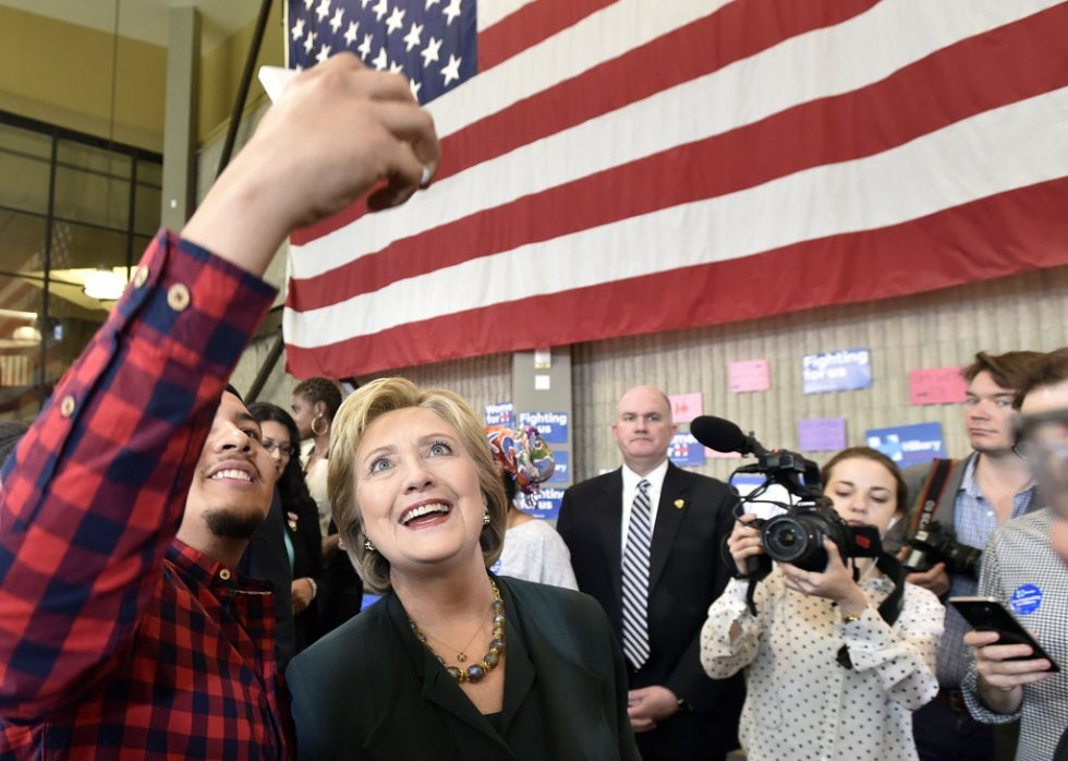 Las Vegas, Nevada. February 19, 2016. (AFP/Josh Edelson)