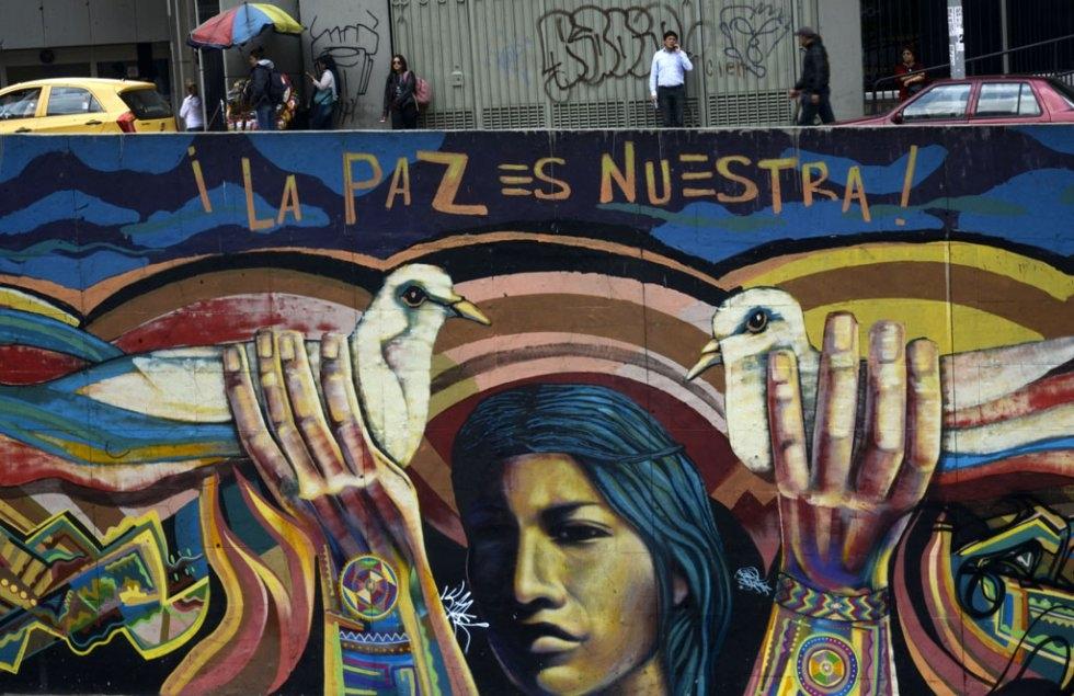 Bogota, January, 2016. (AFP/Raul Arboleda)