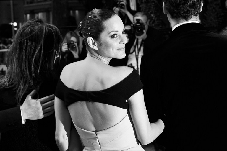 Marion Cotillard, after a screening of 'The Little Prince' at the Cannes Film Festival on May 22, 2015