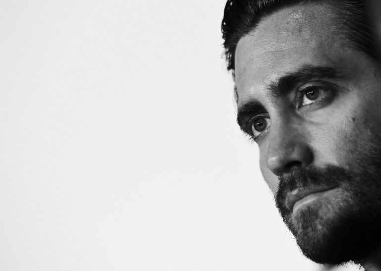 Actor and jury member Jake Gyllenhaal at a press conference in Cannes on May 13, 2015