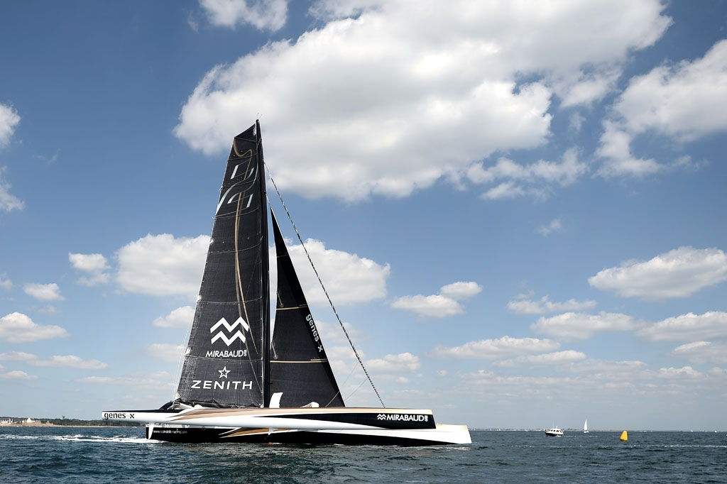 The Spindrift 2, moments before the collision
