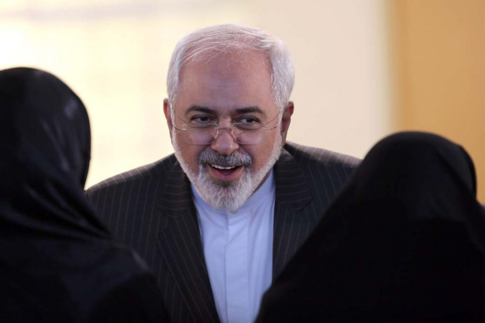 Mohammad Javad Zarif in Tehran. January 17, 2016.