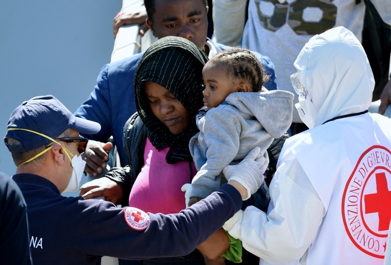 ITALY-IMMIGRATION-SHIPWRECK