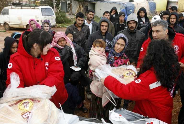 LEBANON-SYRIA-REFUGEE-WEATHER-RED CROSS