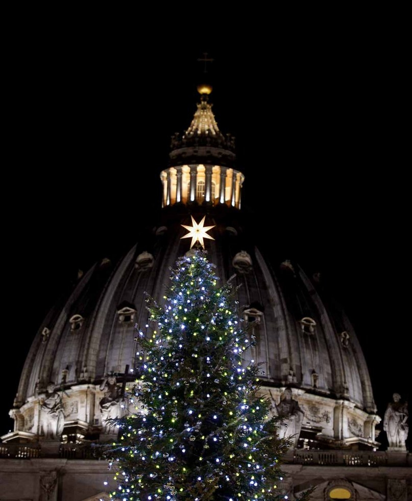 St. Peter's Basilica. December, 2014. (AFP/Filippo Monteforte)