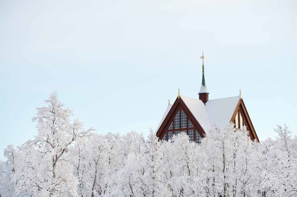 A church in Sweden's north.