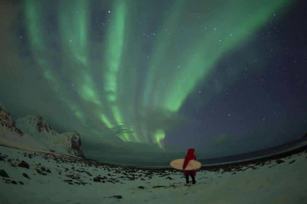 The Northern Lights. (AFP/Olivier Morin)