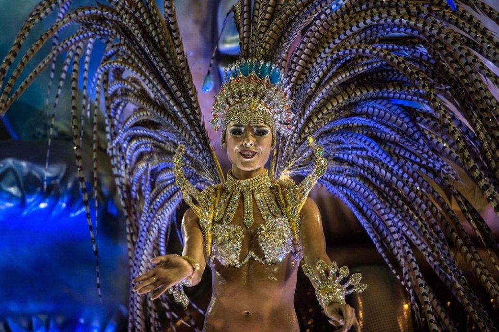 Rio Carnival. (AFP/Christophe Simon)