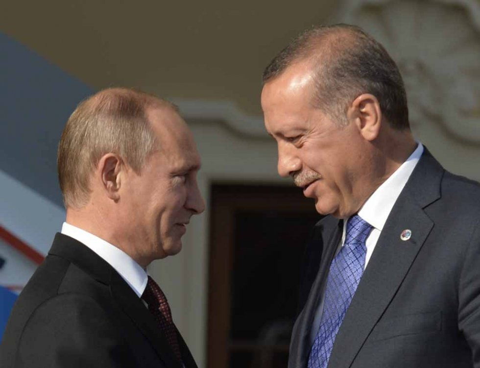Putin and Erdogan in happier times, September, 2013.