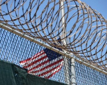 Guantanamo, April, 2014. Photo made during an escorted visit and approved by the US military. (AFP/Mladen Antonov)