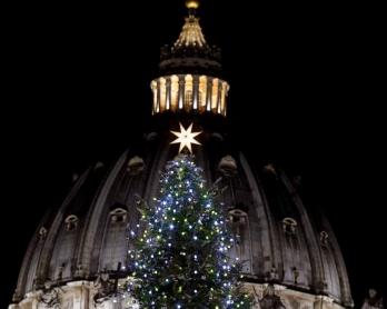 St. Peter's Basilica. December, 2014. (AFP/Filippo Monteforte)