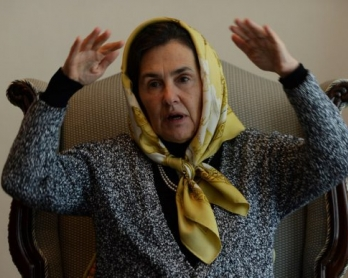 Afghan First Lady Rula Ghani, also known as Bibi Gul